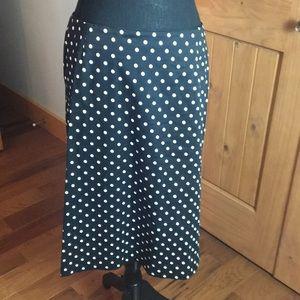 Pendleton polka dot skirt
